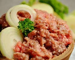 minced meat, tartar